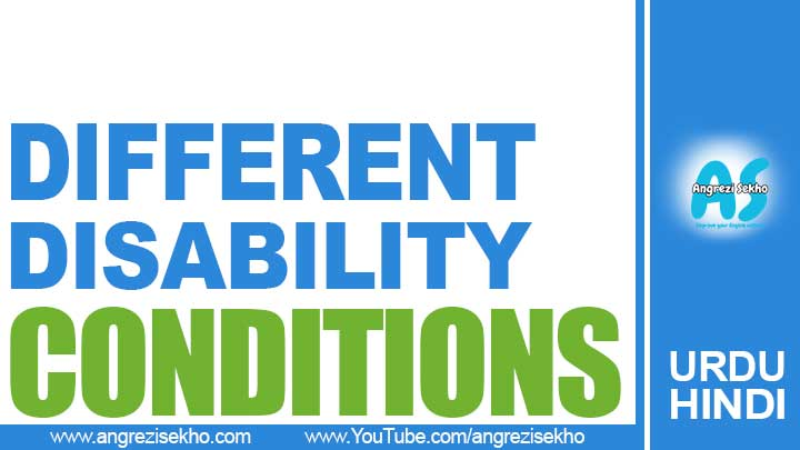 List-of-Different-Conditions-of-Disability