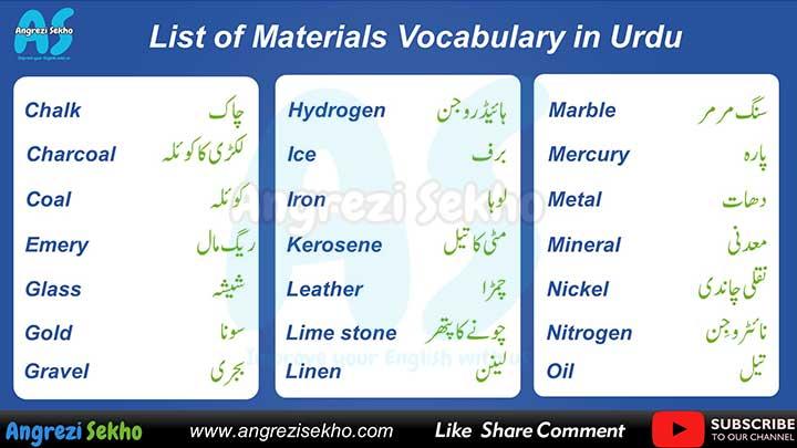 material-list-in-urdu-hindi-list-of=materials-in-urdu