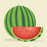watermelon in urdu hindi